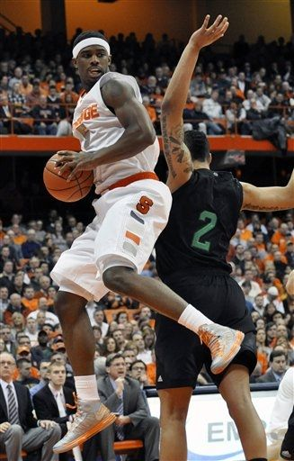 Signs of Improvement on offense were visible in Syracuse's win (Photo credit: AP Photo).
