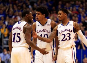 A blowout win over Kansas State ought to ease concerns about Kansas' after a three-game losing streak (Photo credit: Getty Images).