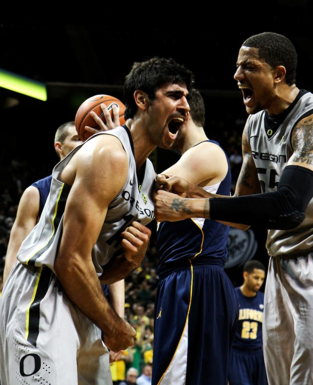 Arsalan Kazemi and Tony Woods Have Dominated The Inside In 2012-13 (credit: Tess Freeman)