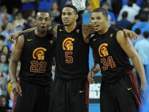 Byron Wesley, Ari Stewart and Eric Wise Helped Fuel The Trojans' Upset of UCLA (US Presswire)