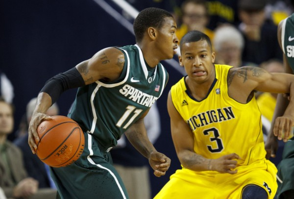 It was an eye-opening performance from Michigan State Tuesday night in East Lansing (Photo credit: Getty Images).