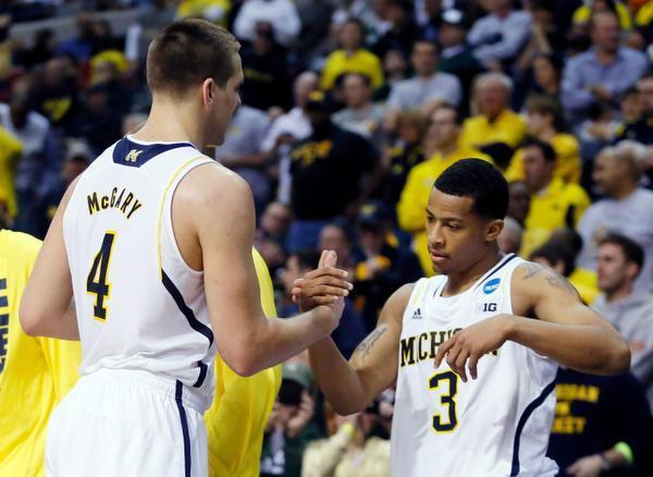The Rams had no answer for McGary Saturday (AP Photo).
