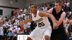 Kenyatta Smith was a huge reason for Harvard's eventual league championship. (The Crimson)