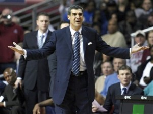 Jay Wright Has His Team Dancing Once Again, But For How Long? (H. Rumph Jr./AP)