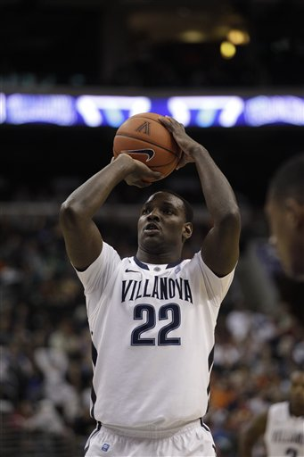JayVaughn Pinkston was 10-10 from the free throw line in Saturday's win over DePaul. (Credit AP Photo/Matt Slocum)