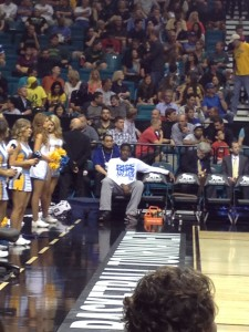 UCLA's Jordan Adams Had To Spend The Night As A Spectator