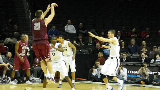 Halil Kanacevic hit some key buckets down the stretch for UMass.