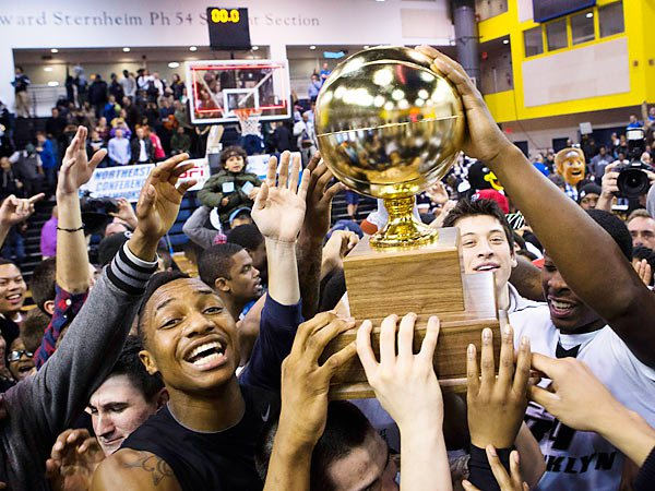 It's An NEC Tournament Three-Peat For The Blackbirds.  Welcome Back To The Big Dance!