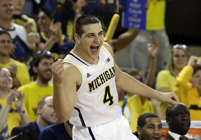 Mitch McGary dominated against the VCU Rams.