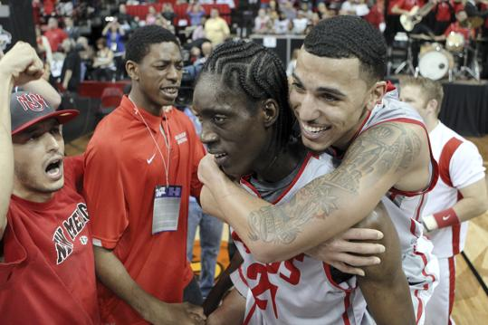 Kendall Williams Was Content To Ride Tony Snell All The Way To a Mountain West Tournament Title On Saturday