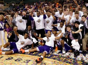 Southland Champions And Headed For The NCAA Tournament -- Congrats To The Demons Of Northwestern State!