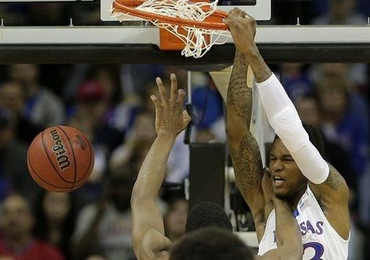 Ben McLemore threw down two incredible dunks against Texas Tech Thursday afternoon. (AP)