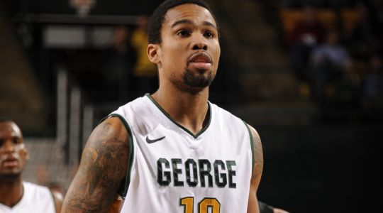 Size, strength, body control, shooting ability - Sherrod Wright  has it all. (George Mason Athletics)