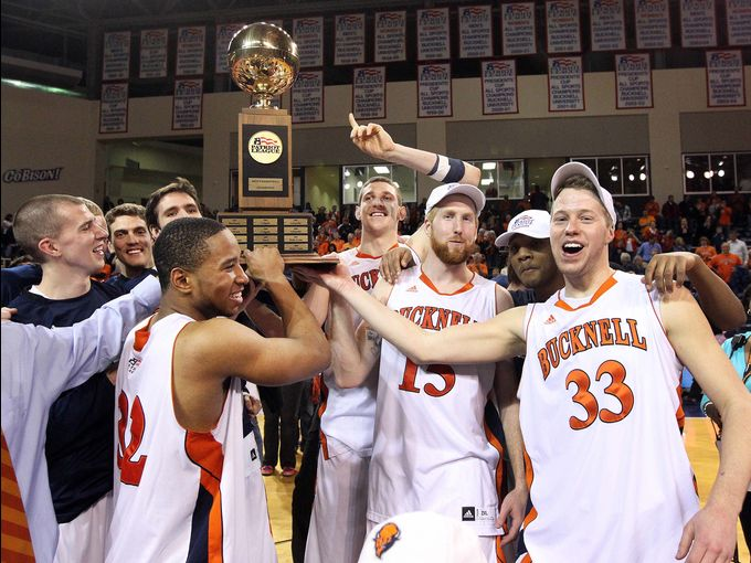 The Bucknell Bison Pulled The Patriot League Sweep To Get Back To The NCAA Tournament