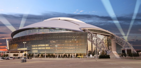 Cowboys Stadium in Arlington, Texas, Hosts the South Regional