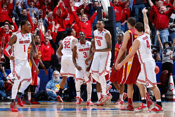 Aaron Craft's Trey Sent OSU Into the Sweet Sixteen (Joe Robbins/Getty Images)