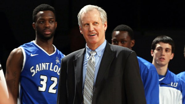 Jim Crews can smirk a little after leading the Billikens from afterthought to league champions. (USATSI)