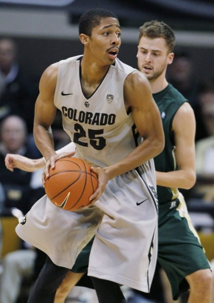 Spencer Dinwiddie Took Over As The Buffaloes' Leader In His Sophomore Campaign (David Zalubowski, AP Photo)