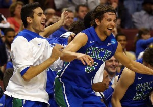 Of all the interesting storylines heading into the Sweet 16, none is more captivating than Florida Gulf Coast (Getty Images).