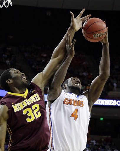 Florida Outmuscled and Outshot the Gophers Today (AP)