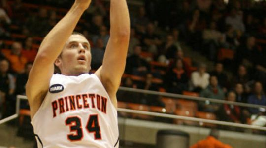 Ian Hummer was an easy choice for the Ivy League's best player. (Princeton athletics).