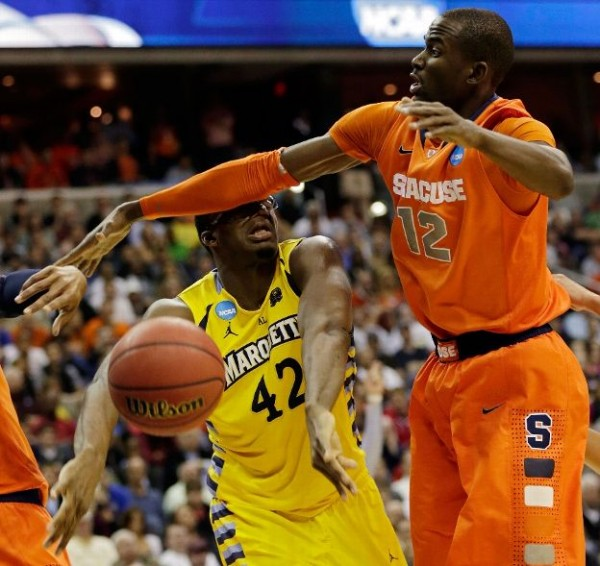 Whoever beats Syracuse will have to solve the Orange's formidable zone defense (Getty Images).