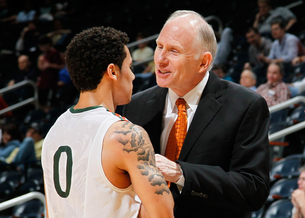 Larranaga and Larkin Intend to Take the Hurricanes to the School's First Final Four