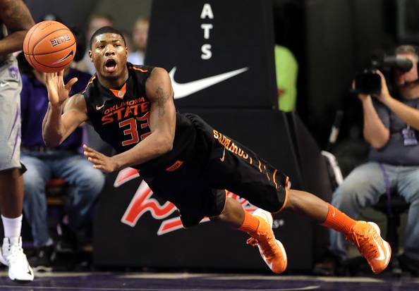 Marcus Smart And Oklahoma State Face Off Against Oregon In Round Two