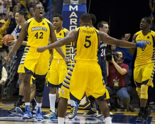 marquette over ND