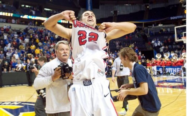 Somehow, Marshall Henderson was not a unanimous selection as the SEC's Most Exciting Player.