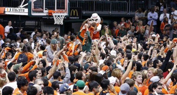Miami's Eye Test couldn't overcome its losses Selection Sunday. (Photo: Robert Mayer / USA TODAY Sports)