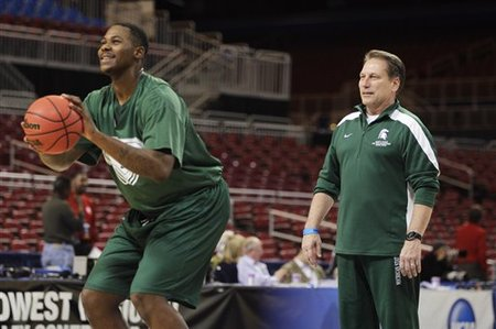 Derrick Nix will be the only Michigan State player honored on Senior Day on Sunday against Northwestern. (