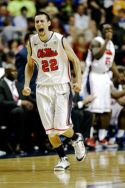Marshall Henderson Will Have Plenty To Talk About In The Coming Days -- His Rebels Are Officially In The NCAA Tournament