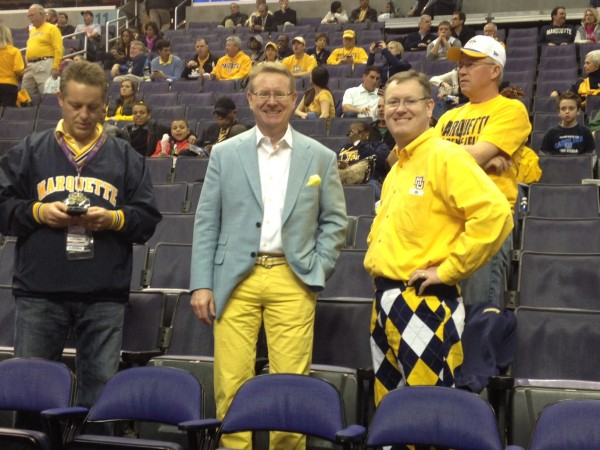 Marquette Fans and Their Interesting Wardrobes Move On...