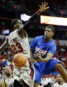 A win against SDSU would have done wonders for Boise State's Bubble Positioning (AP Photo).
