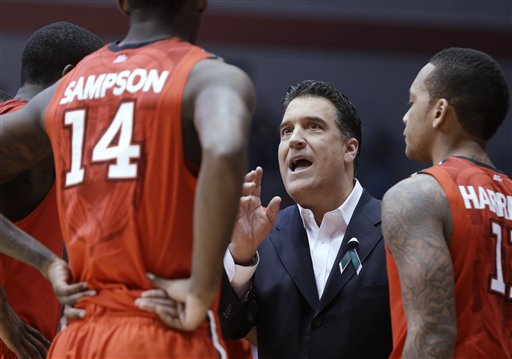Steve Lavin and company have lots of work to do if they want to be dancing in March. (AP Photo/Al Behrman)