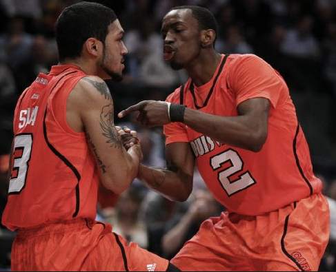 Peyton Siva and Russ Smith have a blueprint in MSG