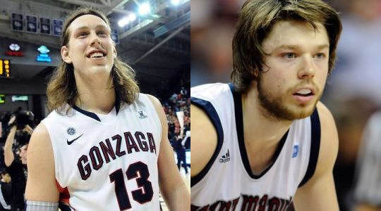The play of Kelly Olynk and Matthew Dellavedova will be key in deciding the eventual WCC tournament champion