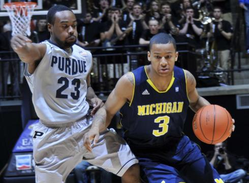 Trey Burke Led His Team Back Against Purdue