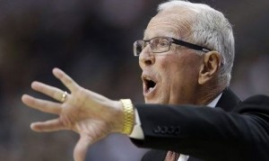 Surprise, surprise, Steve Fisher has his team playing well in the NCAA Tournament. Fisher's squad advanced to the Round of 32 Friday evening. (AP)