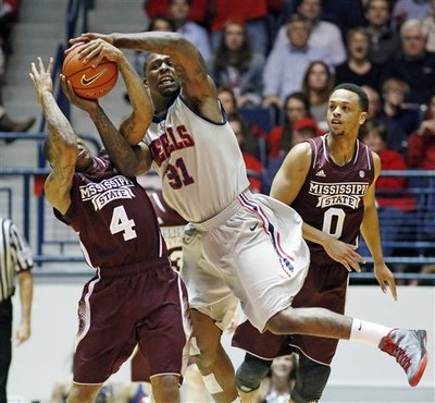 Once a strong candidate to make the NCAA Tournament, Ole Miss has a lot of work to do before selection sunday (AP).