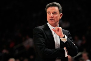 This could be Louisville's best chance (and Pitino's) for the foreseeable future to celebrate at Kentucky's expense (Getty Images).
