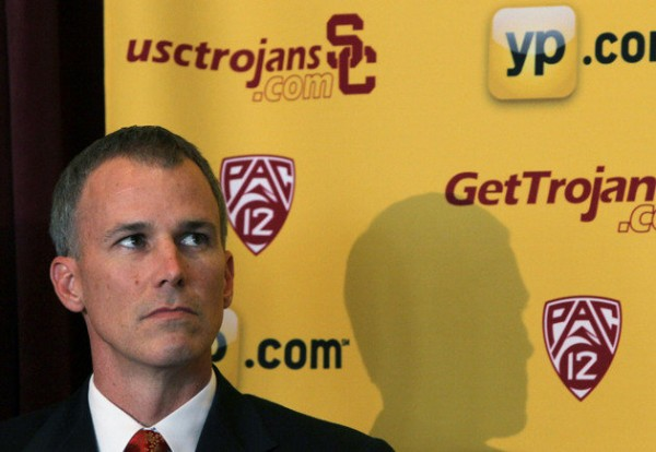 If there are any misgivings about USC hiring Enfield, he's on the right track toward proving why the Trojans made the right choice (Getty Images).