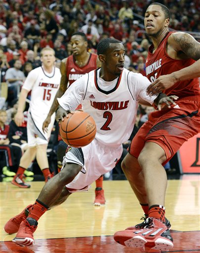 A jolt of offense from Smith has Louisville on the brink of the national championship (AP Photo).