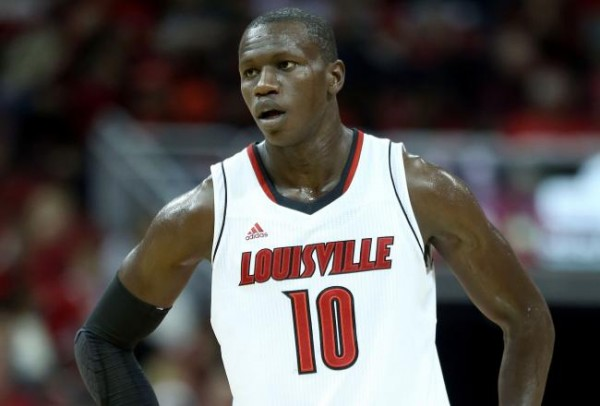 With Dieng protecting the rim, Louisville's defense is almost impossible to pry open (AP Photo).