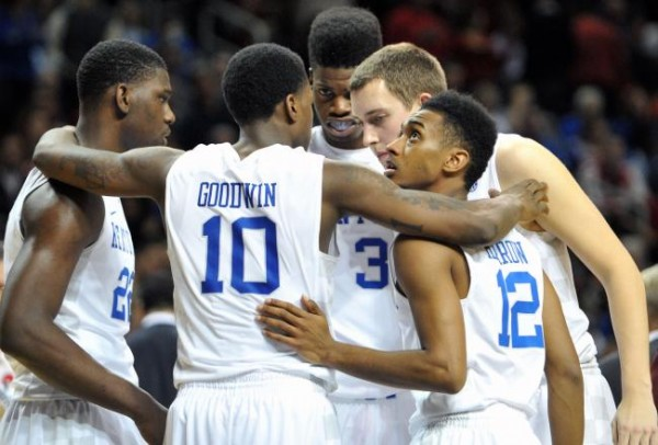 One year after winning a national title, Kentucky missed out on the NCAA Tournament (Getty Images).