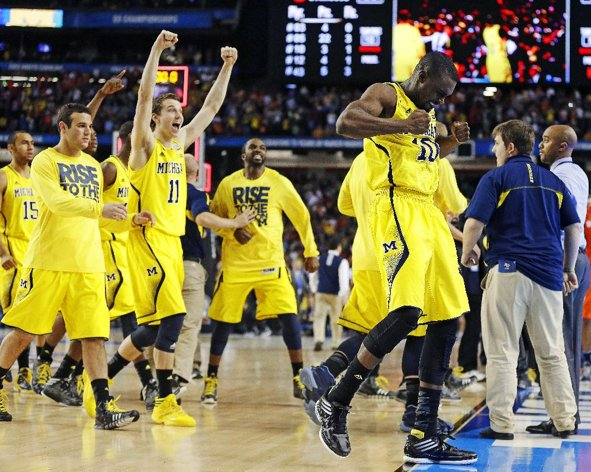 The Wolverines Survive and Advance Against Syracuse