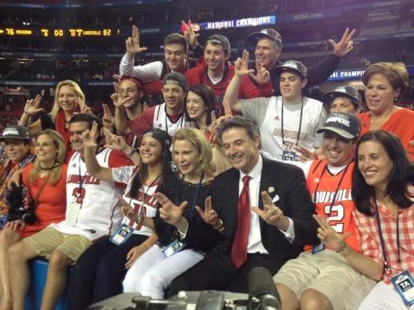 A Ridiculously Great Week for the Pitino Family