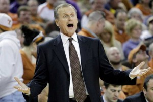 Rick Barnes guided Texas through its highest levels of success, but a lack of postseason success and an apathetic fanbase ultimately became too much for him to overcome. (Eric Gay/Associated Press)