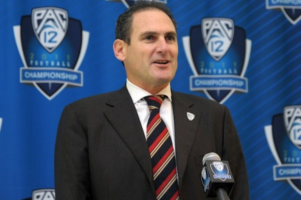 Four years as leader of the nation's premier D1 West Coast athletic conference has earned Scott huge financial bonuses on top of an already sizable base salary (U.S. Presswire).